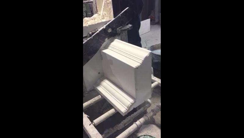 Нанесение покрытия МетаПласт методом протяжки