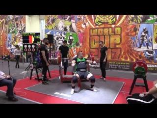 Bouafia Mohamed жим лежа 210 кг
