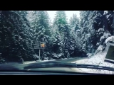Дорога в зимнюю сказку ??⛰❄️⛷????? #зима #елки #сказки #горы? #отдых #буковель #люблюсвоюсемью #люблюсвоюжену