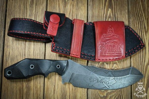 Закончены ножны для 'Кондрата'#kustari42 #разгрузкаФотографа #handma