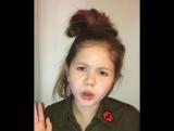 Маленькая девочка поет песню : Леди Гага ♫