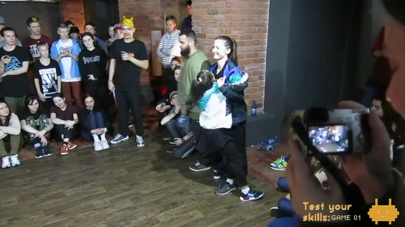 Test Your Skillz: GAME 01 hip-hop 2x2 teacherstudent 1/8'' TadjJeka vs MizMillerPandorra