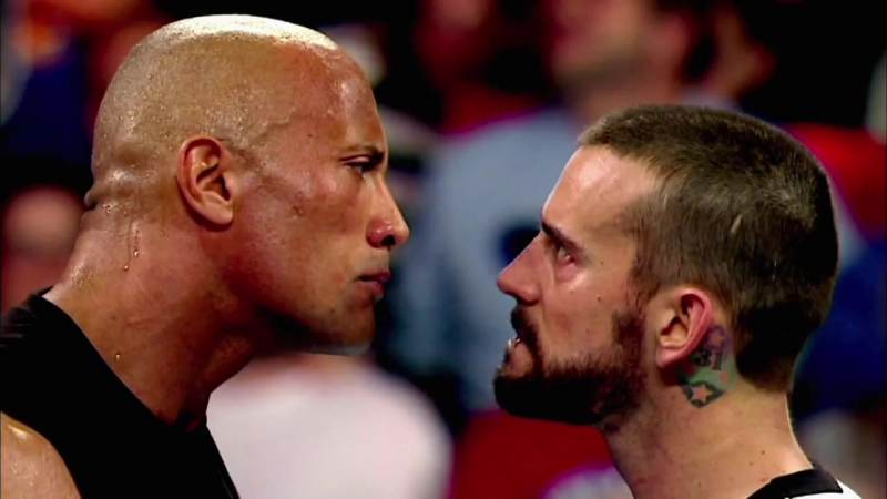 Промо Royal Rumble 2013 CM Punk vs The Rock