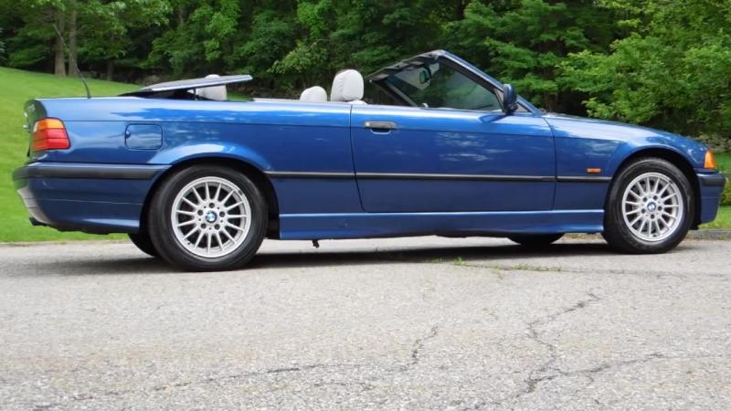 BMW 323i Cabrio (E36) (1999)