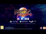 Dragon Ball FighterZ – Трейлер к выходу игры