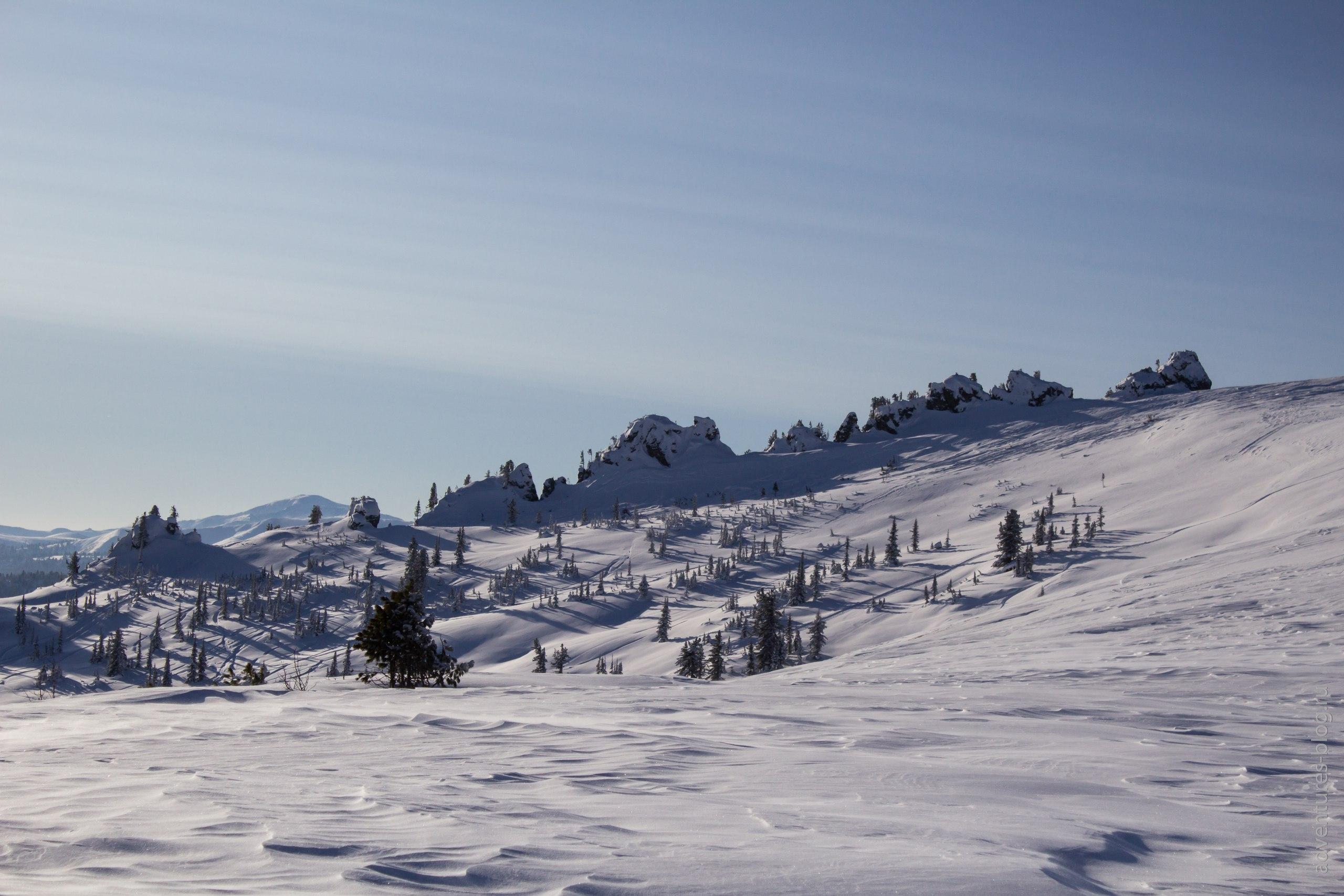 Ергаки зима