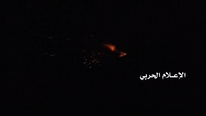 Йемен 08.01.18: ночной обстрел хуситами саудитов! Провинция Наджран, Саудовская Аравия.