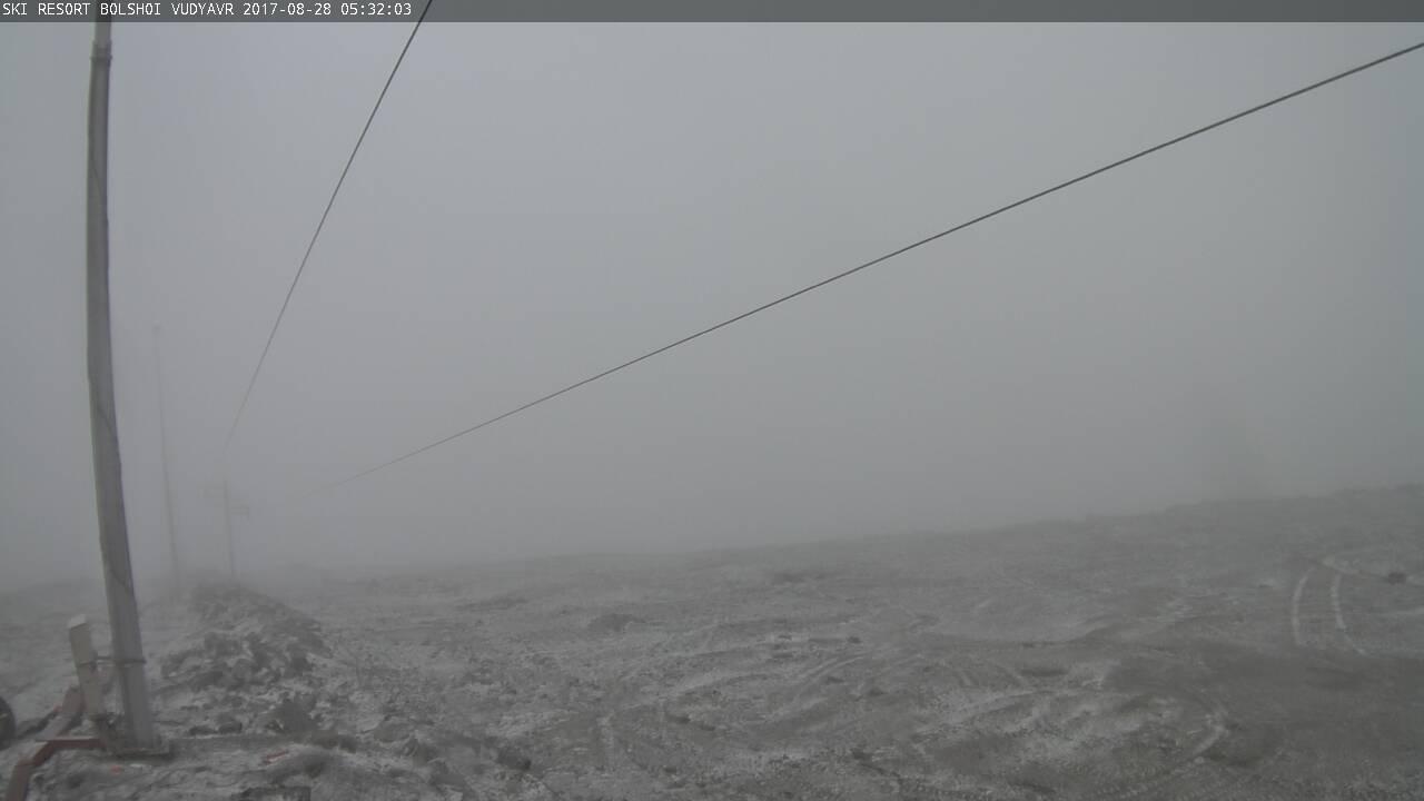 В Мурманской области выпал первый снег