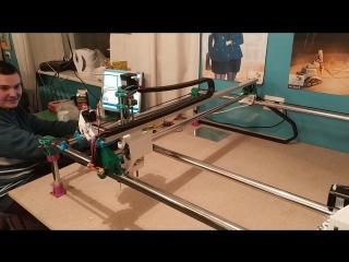 MPCNS - mostly printed CNC (Почти напечатанный станок с ЧПУ)