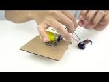 Как сделать робота Валли из картона