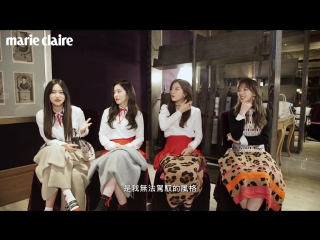 170611 Marie Claire Taiwan: 'Game Time' @ Red Velvet