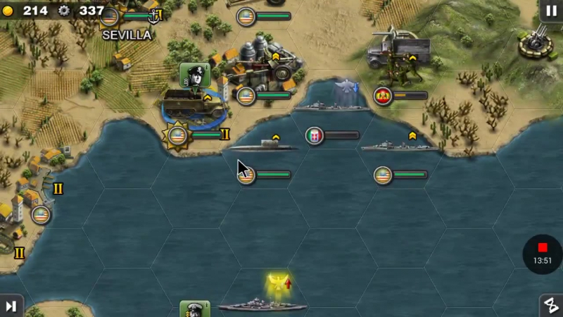 North Africa Front—Allies 6 Operation Torch—Glory of General