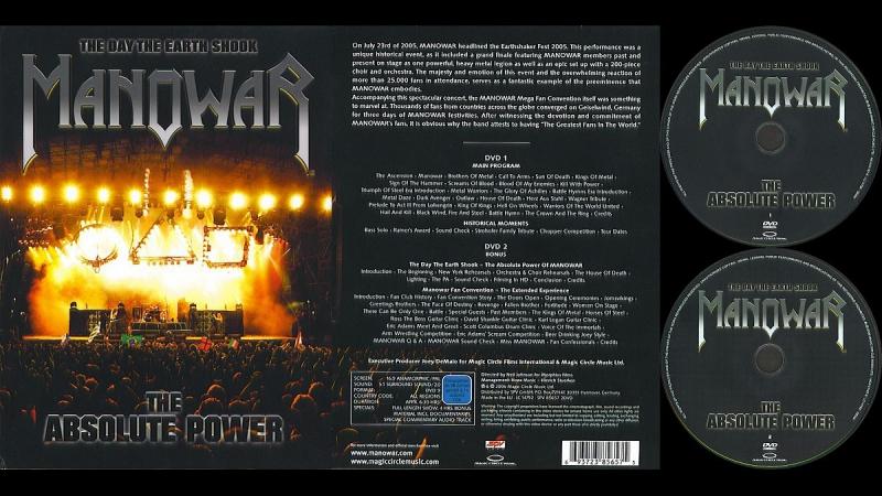 Manowar - The Absolute Power 2005