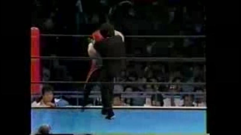 Jushin Liger vs. Satoru Sayama (Tokyo Dome, Shooto Rules)