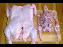 Как разделать курицу для праздничного куриного рулета Интересное блюдо для праздничного стола