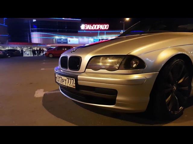 Что может BMW 323i 1999 г. ? Или как ушатать зимние покрышки за 4 круга..