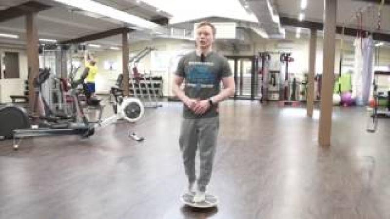 Плоскостопие тренировка стопы на балансировочной платформе