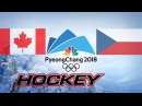 Olympic Game 2018, CANADA vs CZECH REPUBLIC, Highlights Hockey...