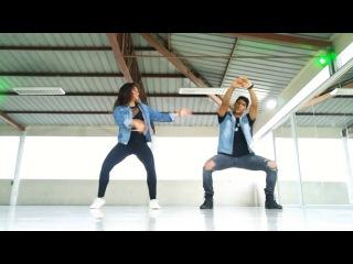 MAN's NOT HOT CHALLENGE Choreo: Petit Afro — Dancers JF Wallace & Karem Mieles.