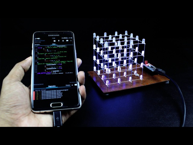 How to Make a LED Cube at Home