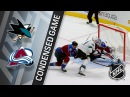 01/18/18 Condensed Game: Sharks at Avalanche