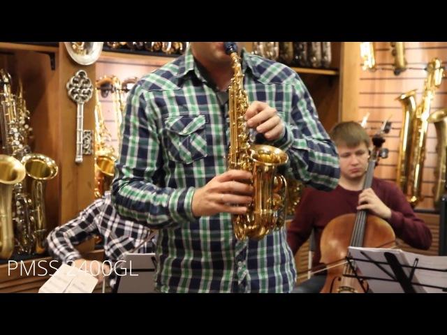 Taras Gusarov Sax Soprano PMSS 2400 GL