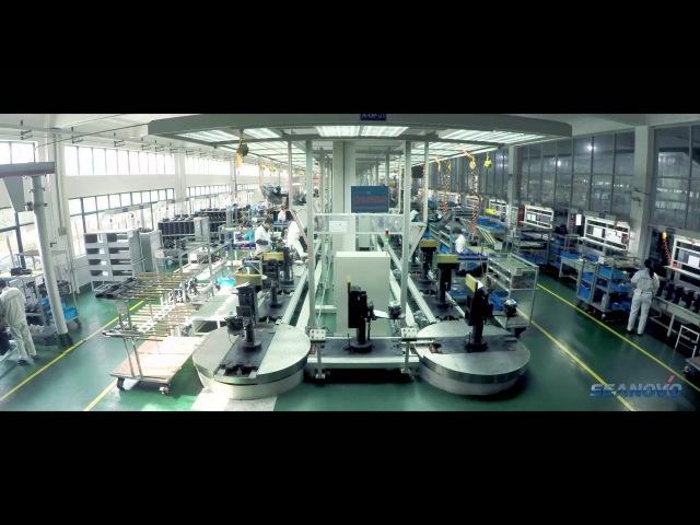 Производство подвесных моторов Seanovo