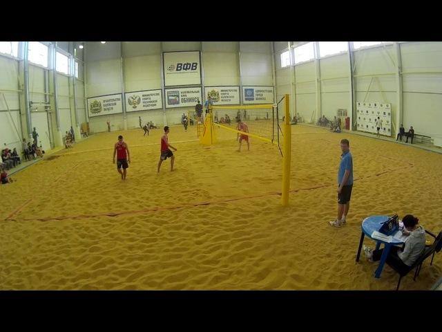 Beach volley Cup U20 Russia 2018 M26 Shekunov-Veretyuk and Bakhnar-Pavlov