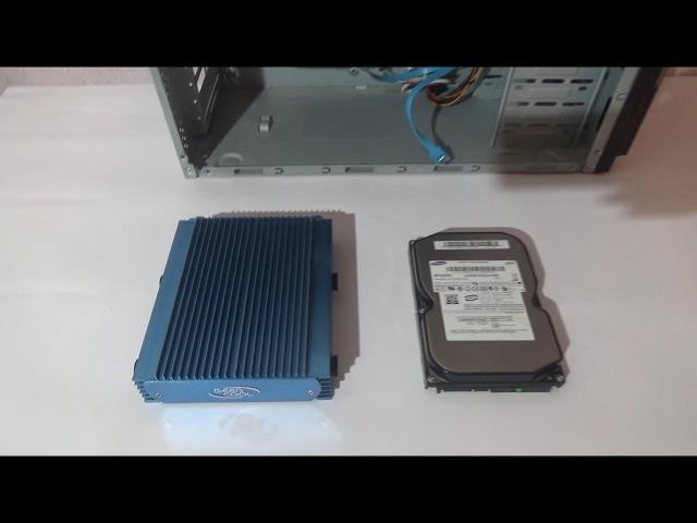Тест радиатора для HDD