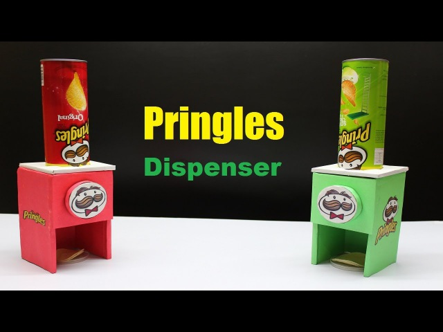 How to Make a Pringles Dispenser