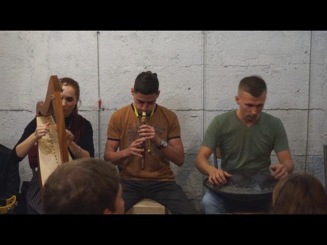 Группа «Эхо Земли» на Квартирнике Близкие Люди (25.11.17)
