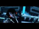 Daft Punk cameo in Tron Legacy Fight scene [HQ] feat.Derezzed
