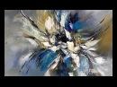 Acrylmalerei-Acryl art painting-Einfach Malen-Easy Painting-Im Rausch der Farben 1