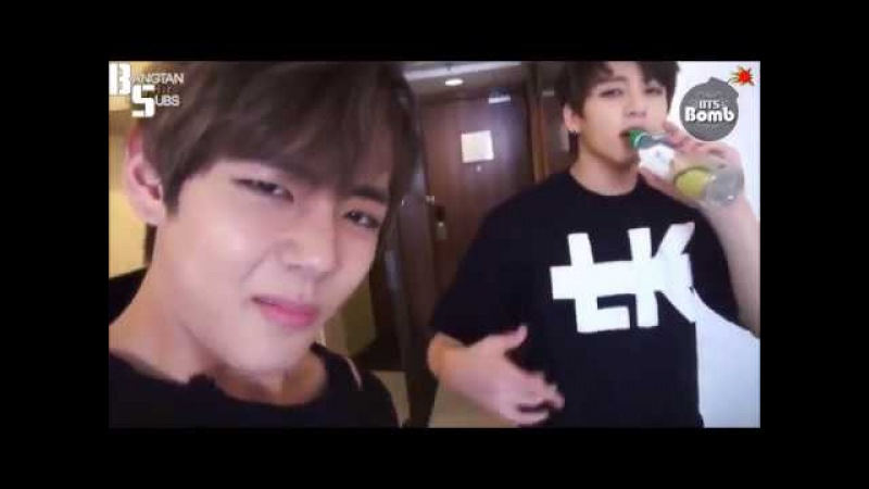 Bangtan bombs but it´s only vkook part 2 (ft. other hyungs)