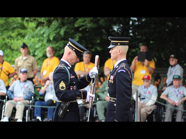 Guard Commander Inspection Arlington National Cemetery