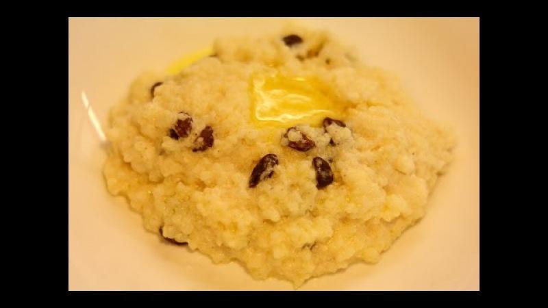 Молочная Пшенная Каша с Изюмом в Мультиварке Скороварке Redmond RMC-P350 Рецепты для Му...
