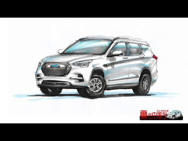 Amazing! HAVAL fans draw HAVAL vehicles so vividly!