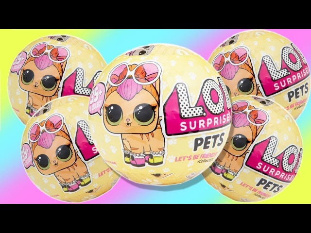 NEW LOL Surprise Pets Wave 2 FULL CASE Opening L O L Series 3 Toys