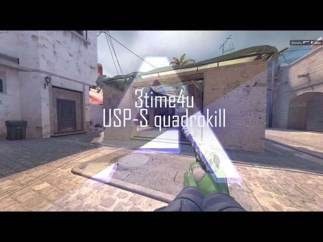 3time4u - USP-S quadrokill