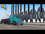 BeamNG.drive - Giant Axes Against Cars Crashes