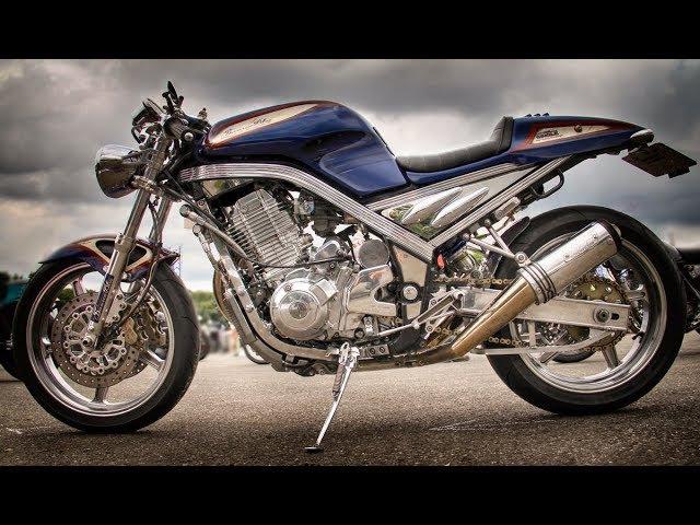 YAMAHA SRX400 3VN Custom Machine