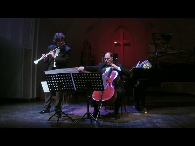Вилла-Лобос. Реактивный посвист для флейты и виолончели