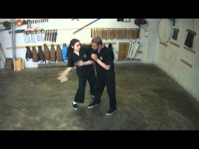 Armenian Wing Tsun (Винг Чун), Chi Sao, Чи сао (липкие руки) 2, Elen Srapyan (15 years old).