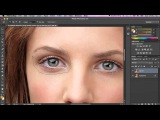 How to make your Eyes bigger in Photoshop!