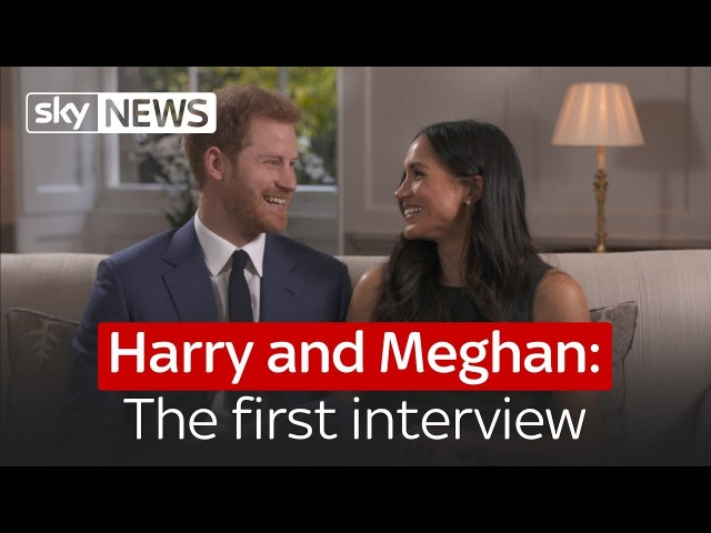 Prince Harry and Meghan Markle The first interview