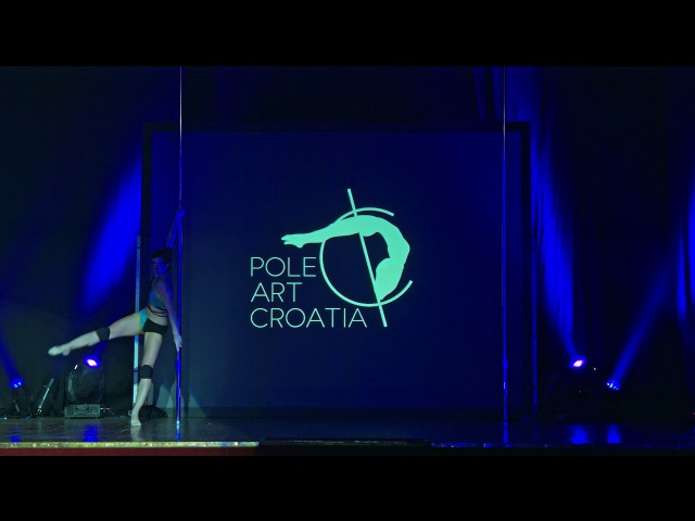 Nikolina Nekić – POLE ART CROATIA 2017 Professionals – 2nd place