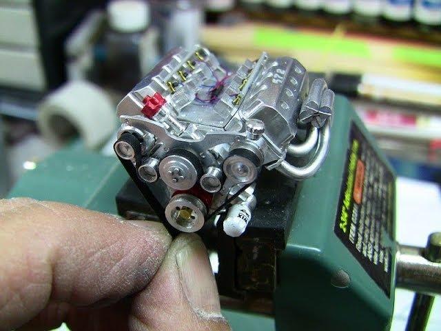 Видео САМЫЕ маленькие двигатели V8 V10