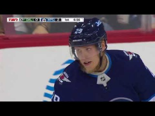 Dmitri Kulikov assists on sweet Laine's one timer from high slot (2017)