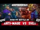 ROSH PIT BATTLE 4 ANTI MAGE vs SVEN DOTA VERSUS RAP BATTLE
