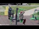 GrandMothers Gym - Бабушки исполняют на тренажерах!